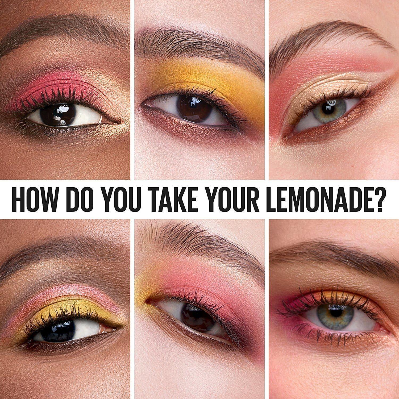Maybelline Lemonade Craze lemonscented eyeshadow palette