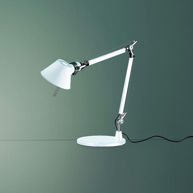 Tolomeo Micro Desk Lamp By Artemide A011838 Desk Lamp Lamp Desk Lamps