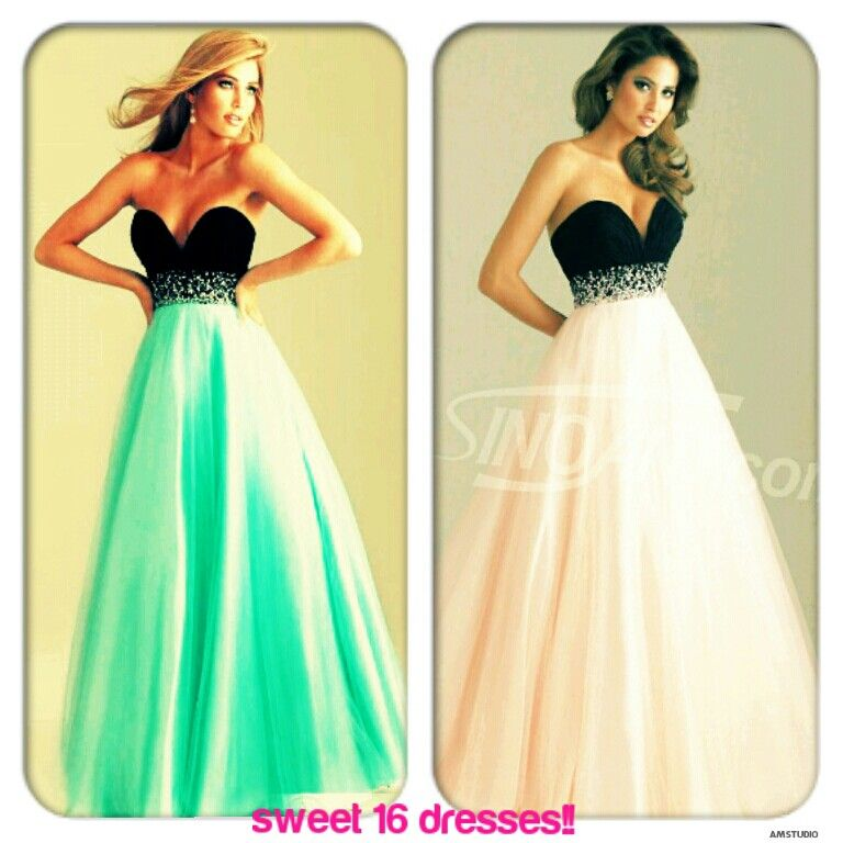 Nice sweet 16 dresses ♥ (With images) Sweet 16 dresses