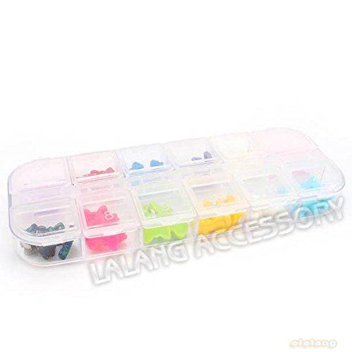 G-Beauty : 1Set/Lot Simple Mixed 10 colors Cute Colorful Dot Plastic Bowknot Nail Art Decoration Nail Bow 600211 ** Visit the image link more details.