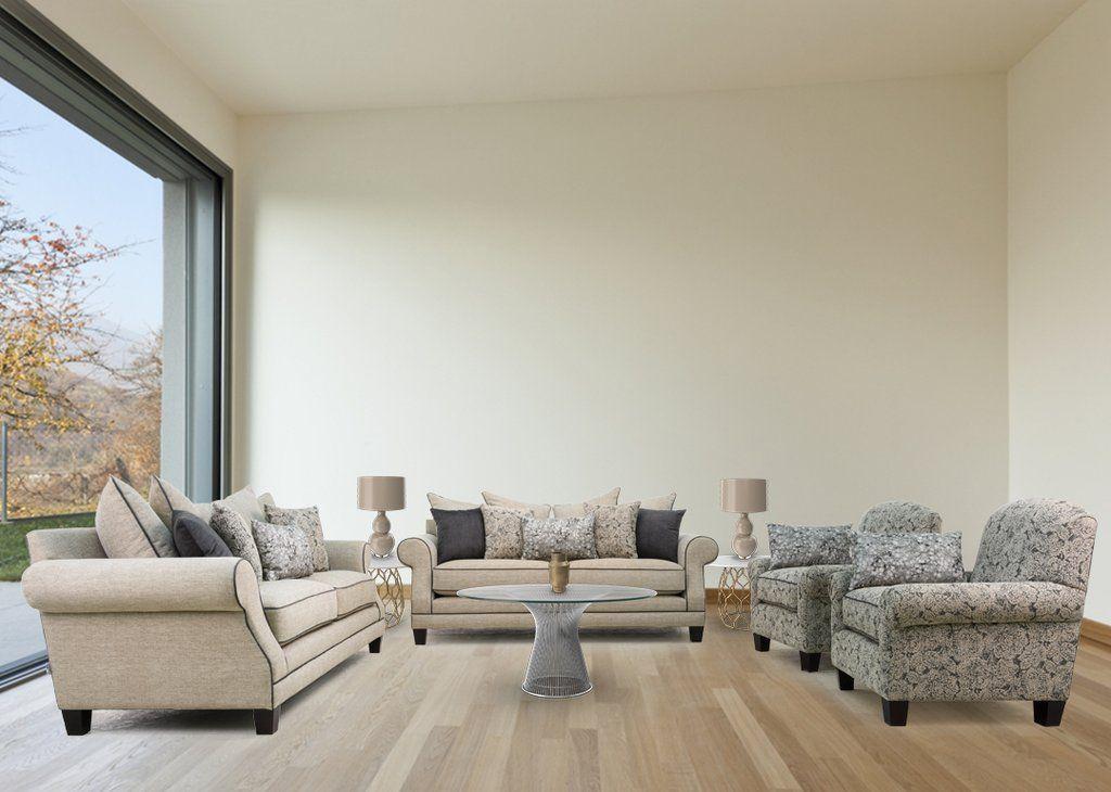 Model 8887 2124 American Sofa Transitional Sofas Furniture