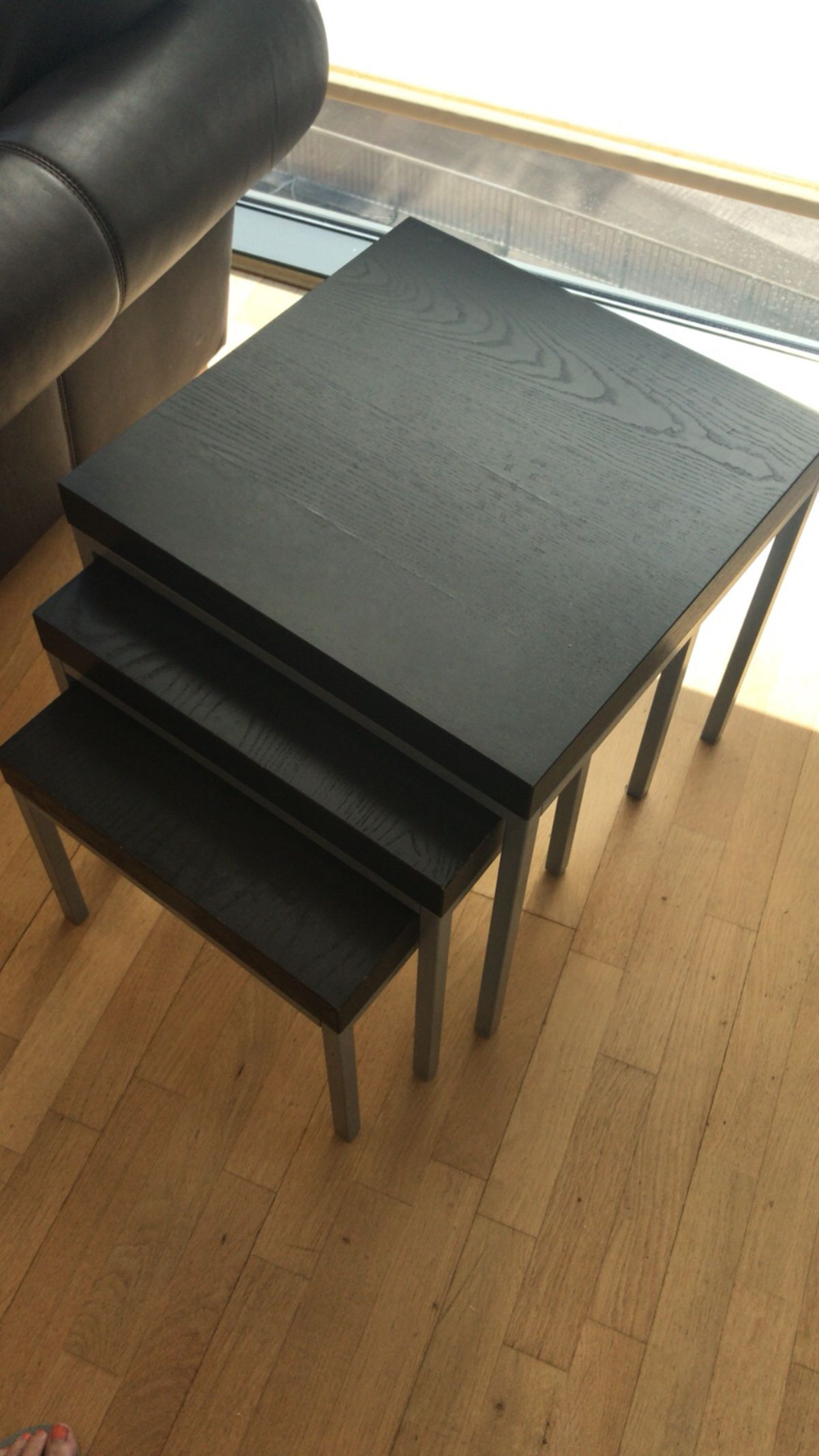 Ikea Side Nest Of Tables Coffee Table In L14 Liverpool Fur 14 Ikea Side Table Ikea Lack Side Table Ikea Lack Coffee Table [ 1777 x 1000 Pixel ]