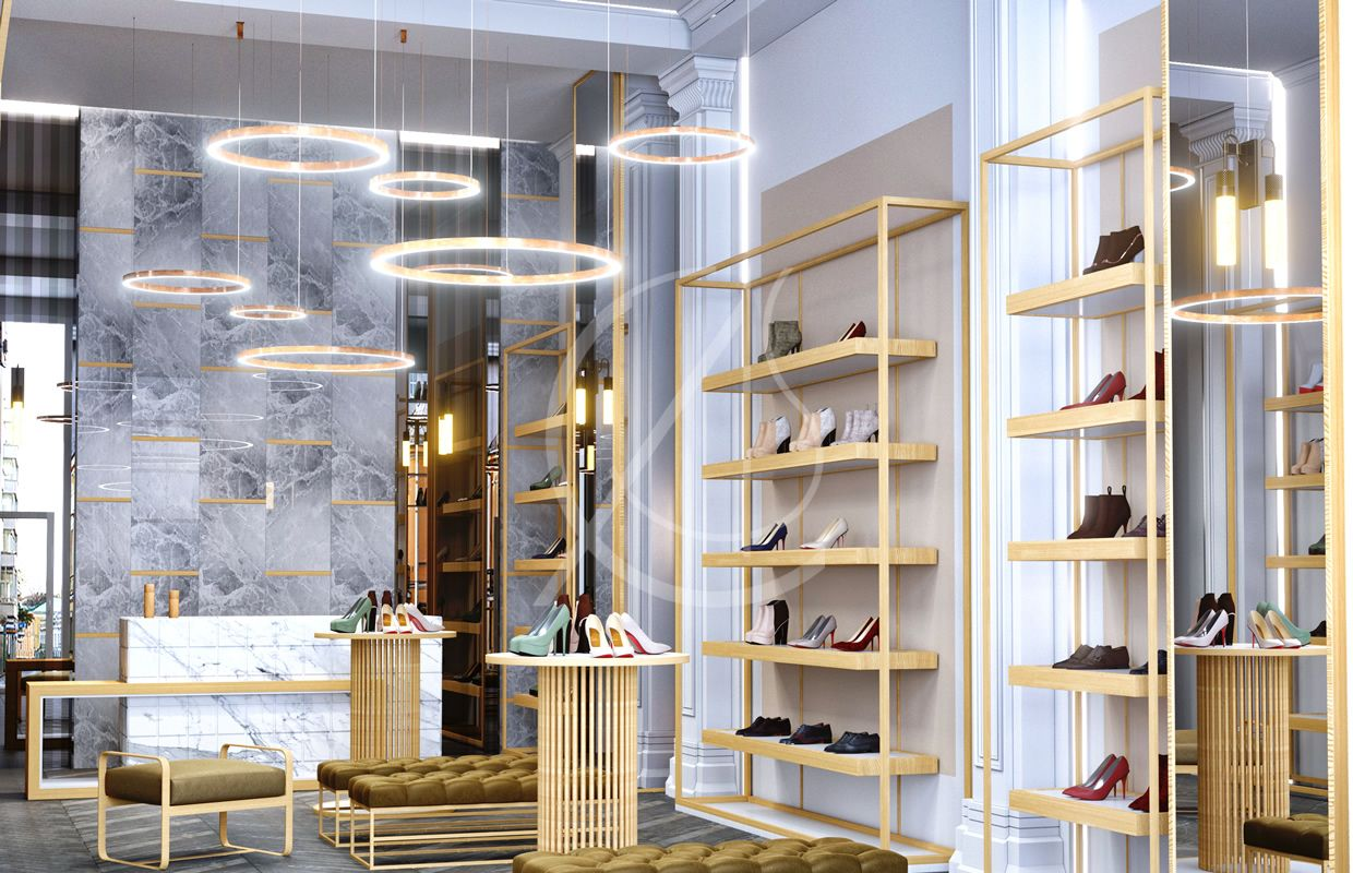 Luxury Shoe Store Design Retail Interior Design London Uk Cas Showroom Interior Design Retail Interior Design Shoe Store Design