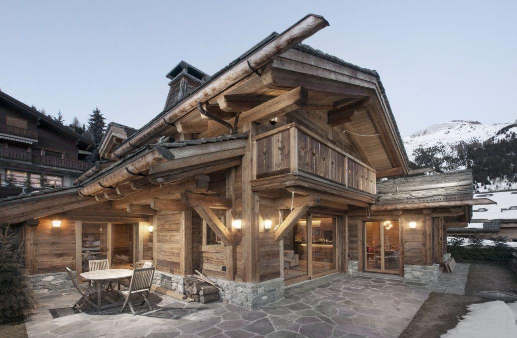 Chalet gypaete architecture verbier chalets