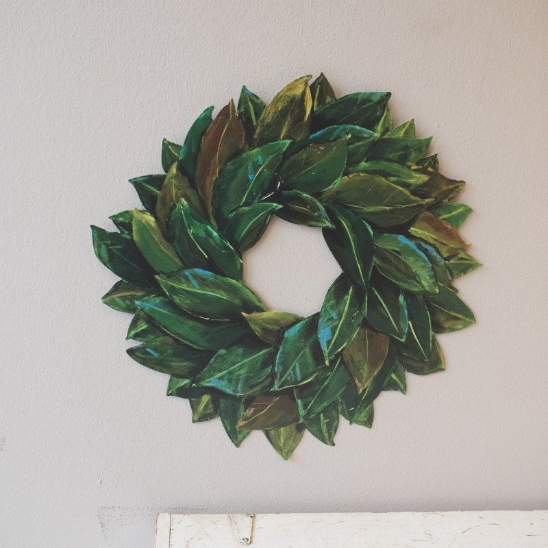 Photo of Gallery Magnolia Wreath | RTCG