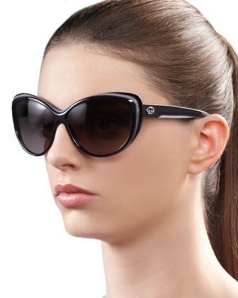 cafad4a5b81 Round Cat Eye Sunglasses
