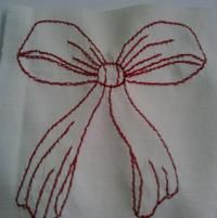 Embroidery: Redwork
