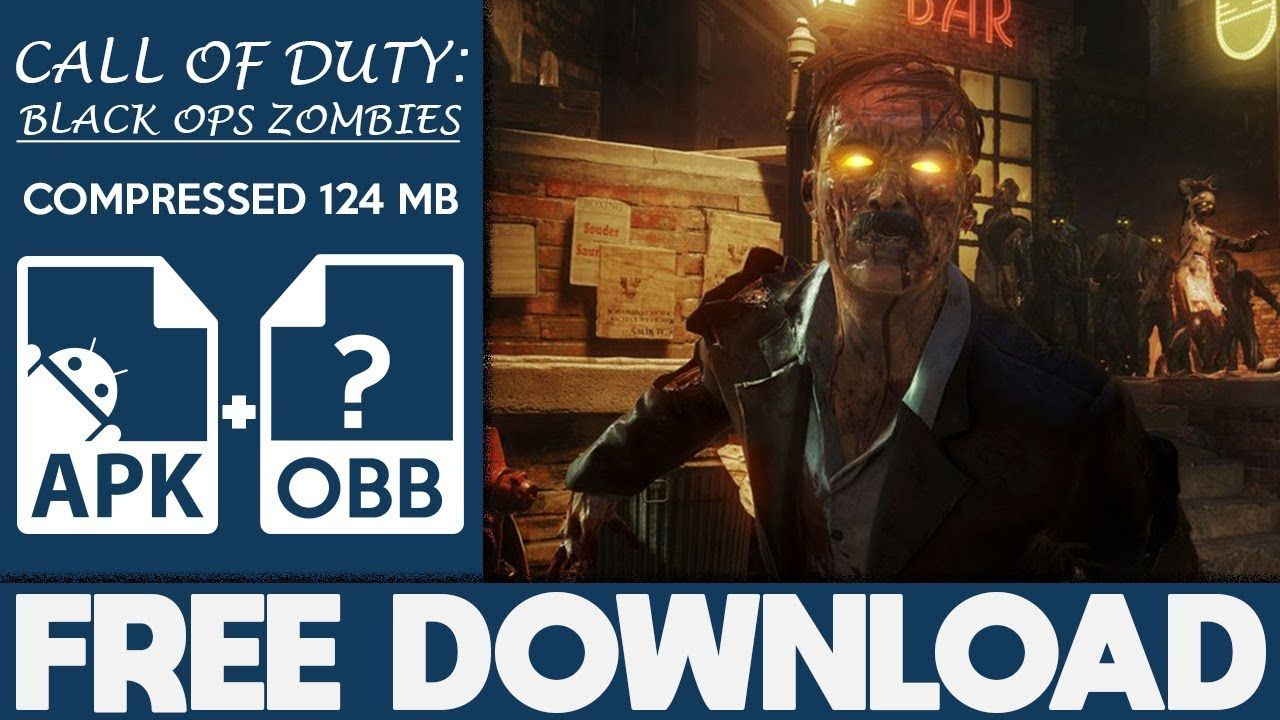 call of duty black ops zombies apk data