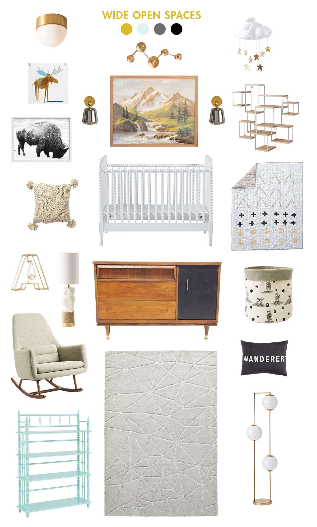 Natural And Neutral Baby Room Ideas