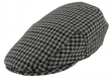 000b69f28982c Barbour New County Tweed Flat Cap Grey Tweed MHA0008BR11