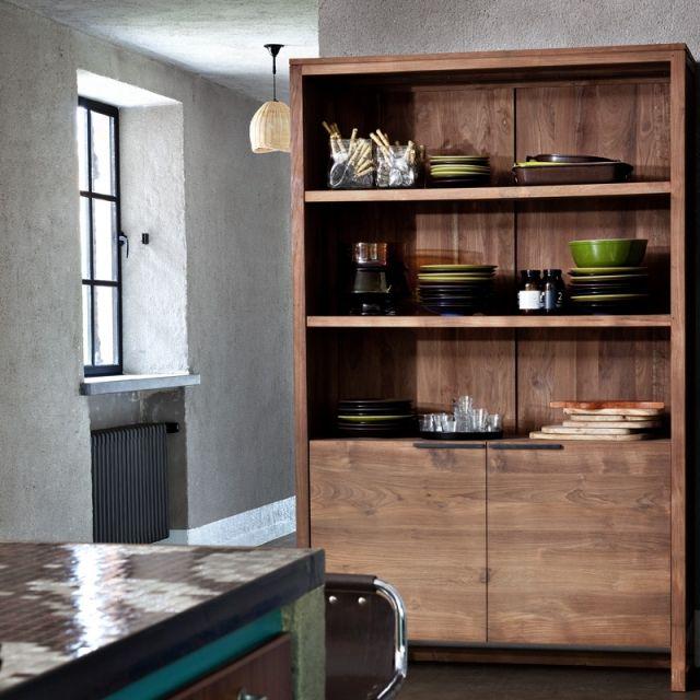 Etagere Lf Ethnicraft Decoration Maison Meubles De Rangement Mobilier