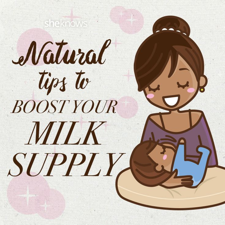 Great Natural Tips to Boost Breast Milk Supply! Must for breastfeeding moms.