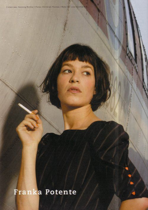 Franka Potente Smoking 13 | Franka Potente | Pinterest | Franka ...