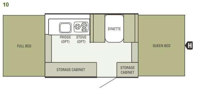 Starcraft Pop Up Floor Plans | Viking Remodel | Pinterest ...