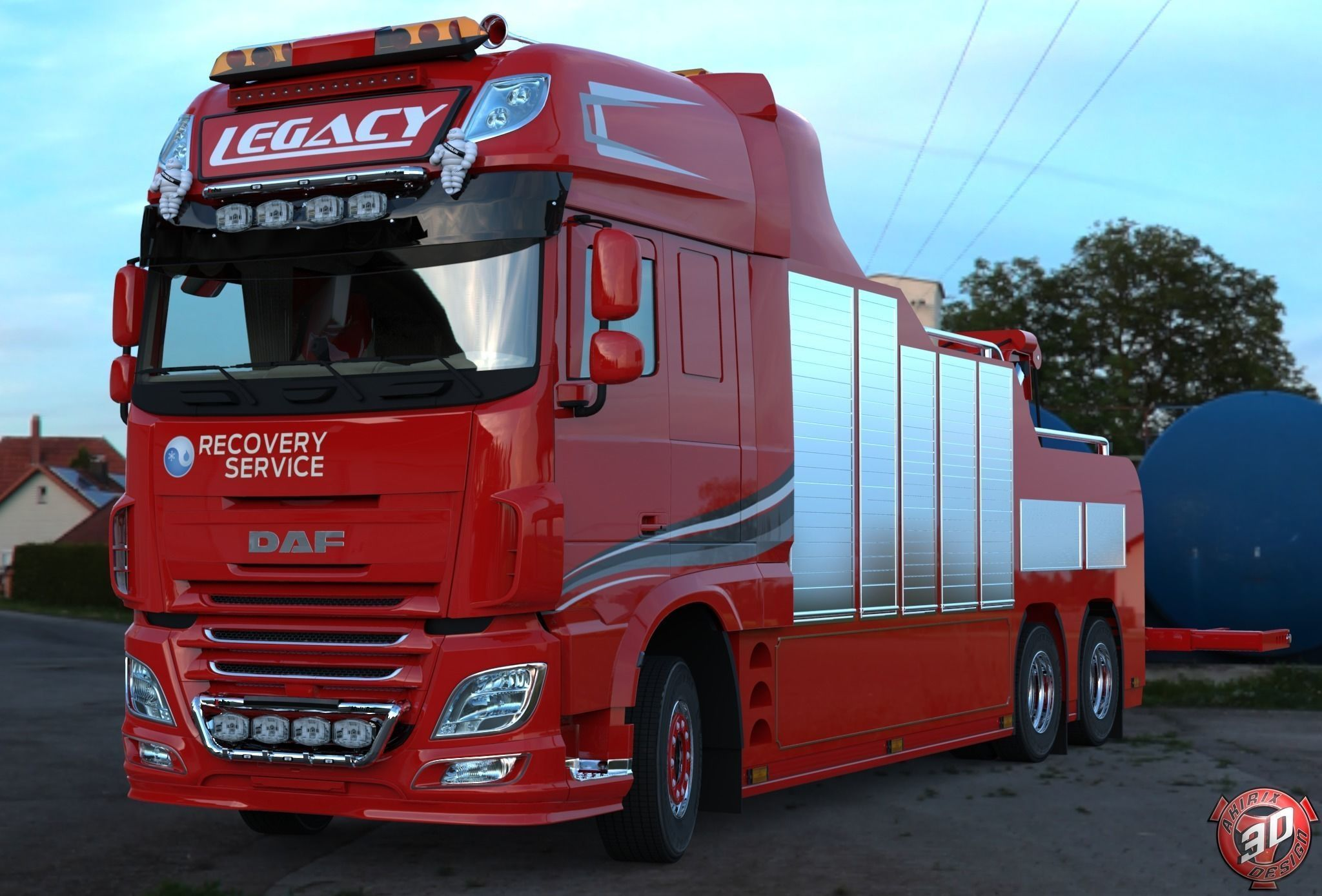 daf xf 106 510 recovery service truck bergings trucks. Black Bedroom Furniture Sets. Home Design Ideas