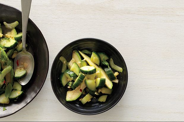 Find the recipe for Cucumber and Avocado Salad and other cucumber recipes at Epicurious.com
