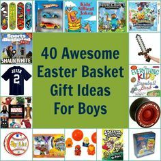 40 awesome easter basket gift ideas for boys easter baskets and 40 awesome easter basket gift ideas for boys negle Image collections
