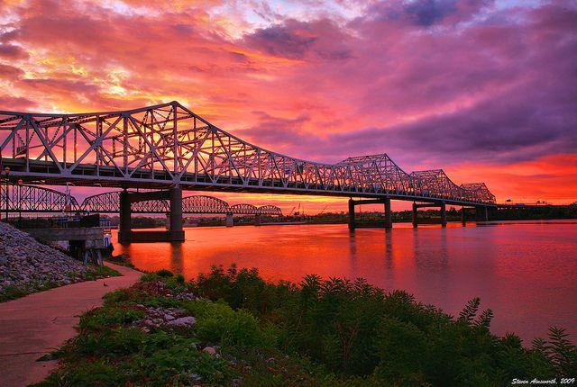 Ohio River sunrise