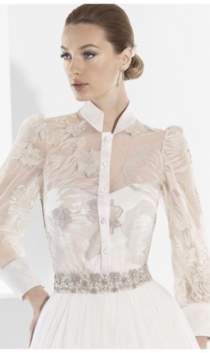 Vestidos de novia con camisa: ¡novias originales! | Wedding Ideas ...