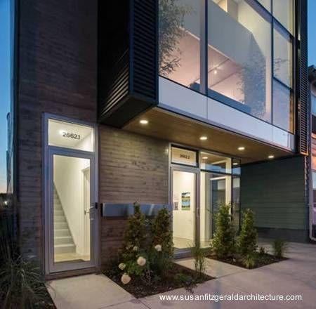 fachada vivienda con local comercial buscar con google