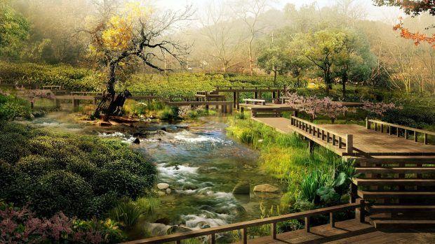 Download Full Hd Wallpapers 1080p Japan Landscape Japanese Landscape Chinese Landscape