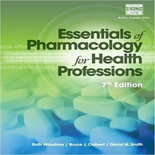 test bank for essentials of pharmacology for health professions 7th