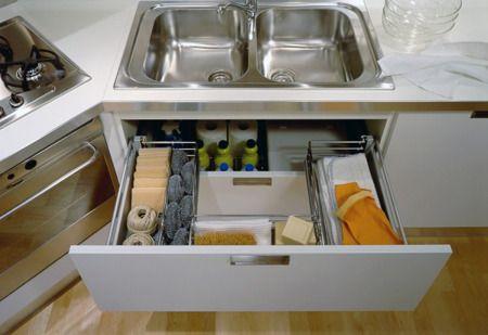 Cajon4 c mo organizar los cajones y alacenas de la cocina for Organizar cajones cocina