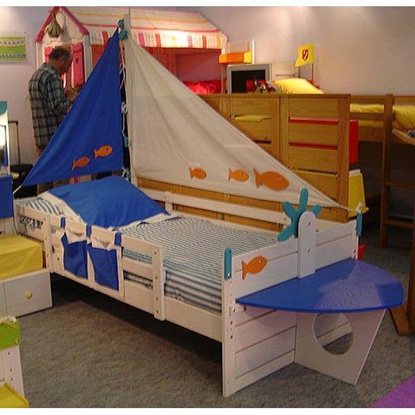 lit bateau ma chambramoi lit palette bois pinterest kinderzimmer jungszimmer und. Black Bedroom Furniture Sets. Home Design Ideas