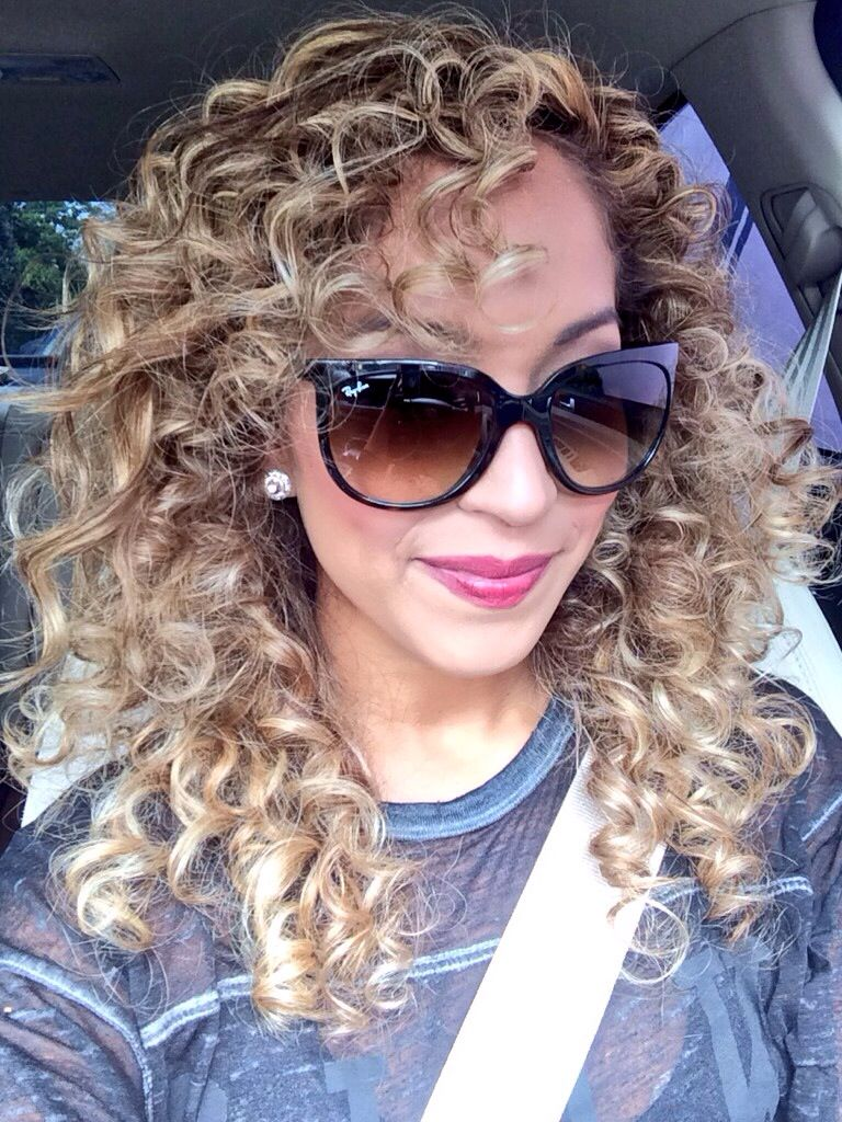 Curly Hair Don't Care ❤️