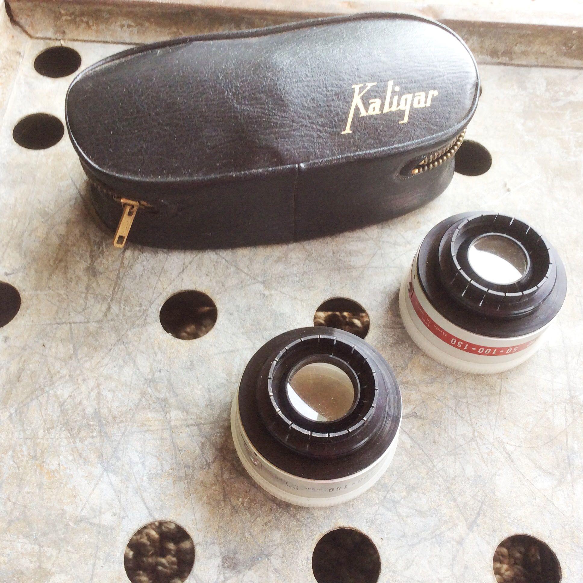 Vintage Kaligar Aux Telephoto Wide Angle Camera Lens Set Etsy Vintage Camera Lens Leather Case Camera Lens Accessories