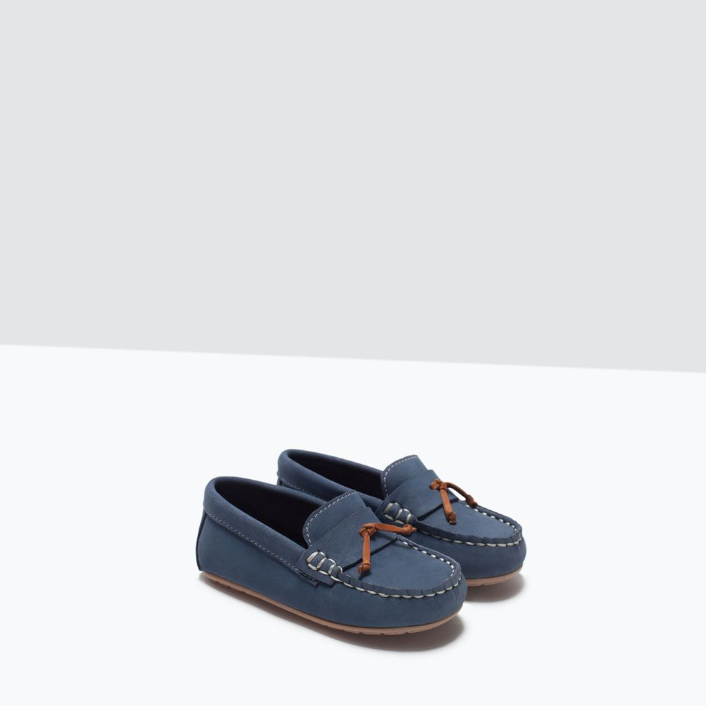 envío gratis bcaee 84c7e LEATHER MOCCASIN-Shoes-Baby boy | 3 months - 3 years-KIDS ...