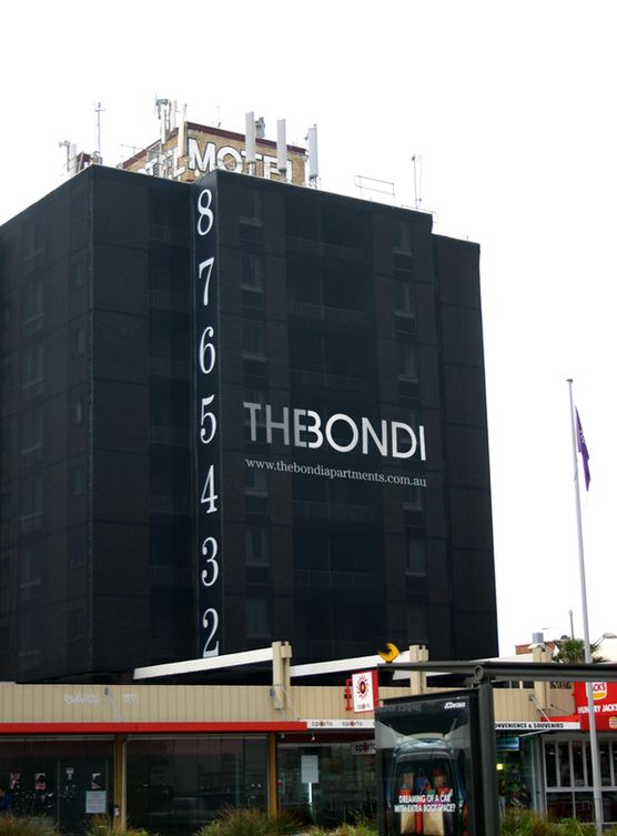 the bondi apartments, external signage | ☗ ARCHI ...