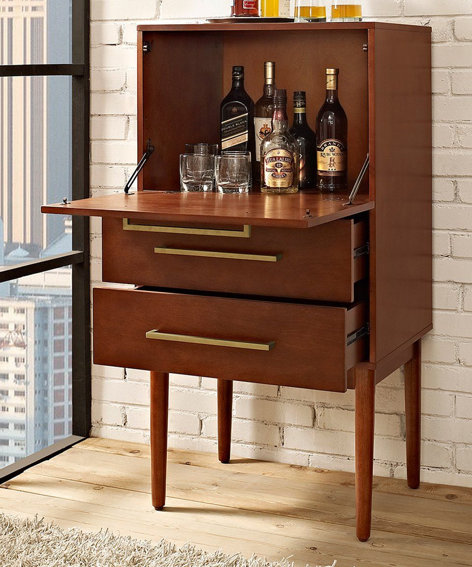 Take A Look At This Mahogany Everett Spirit Cabinet Today Office Modern Bar Cabinet Cabinet Wine Cabinets