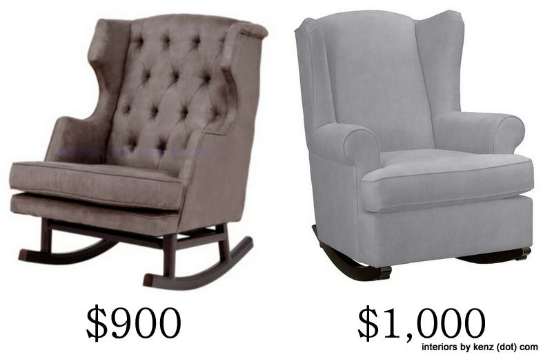 IKEA Hack: Strandmon Rocker {DIY Wingback Rocking Chair} | Rockers ...