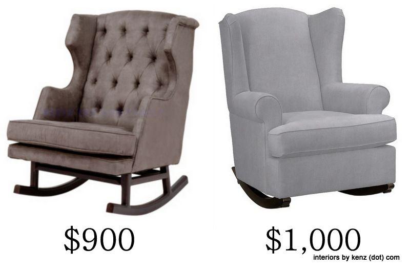 IKEA Hack: Strandmon Rocker {DIY Wingback Rocking Chair}   Rockers ...