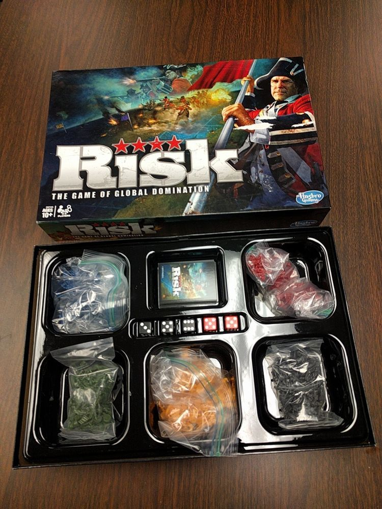 Risk Game Board Game Game of Global Domination by Hasbro