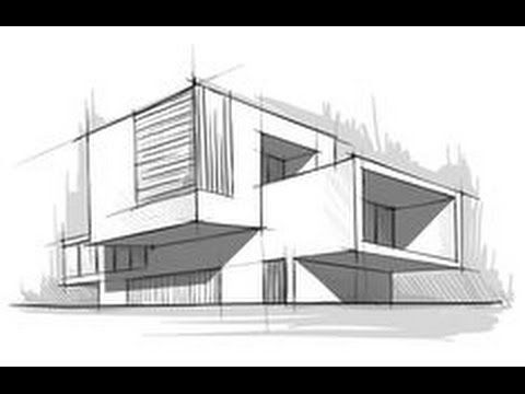How to draw like a architect - YouTube