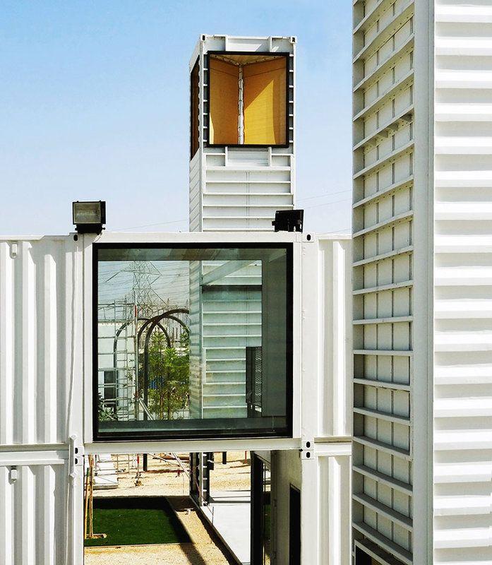 Häuser Aus Containern hai d3 büroscontainer haus container haus house