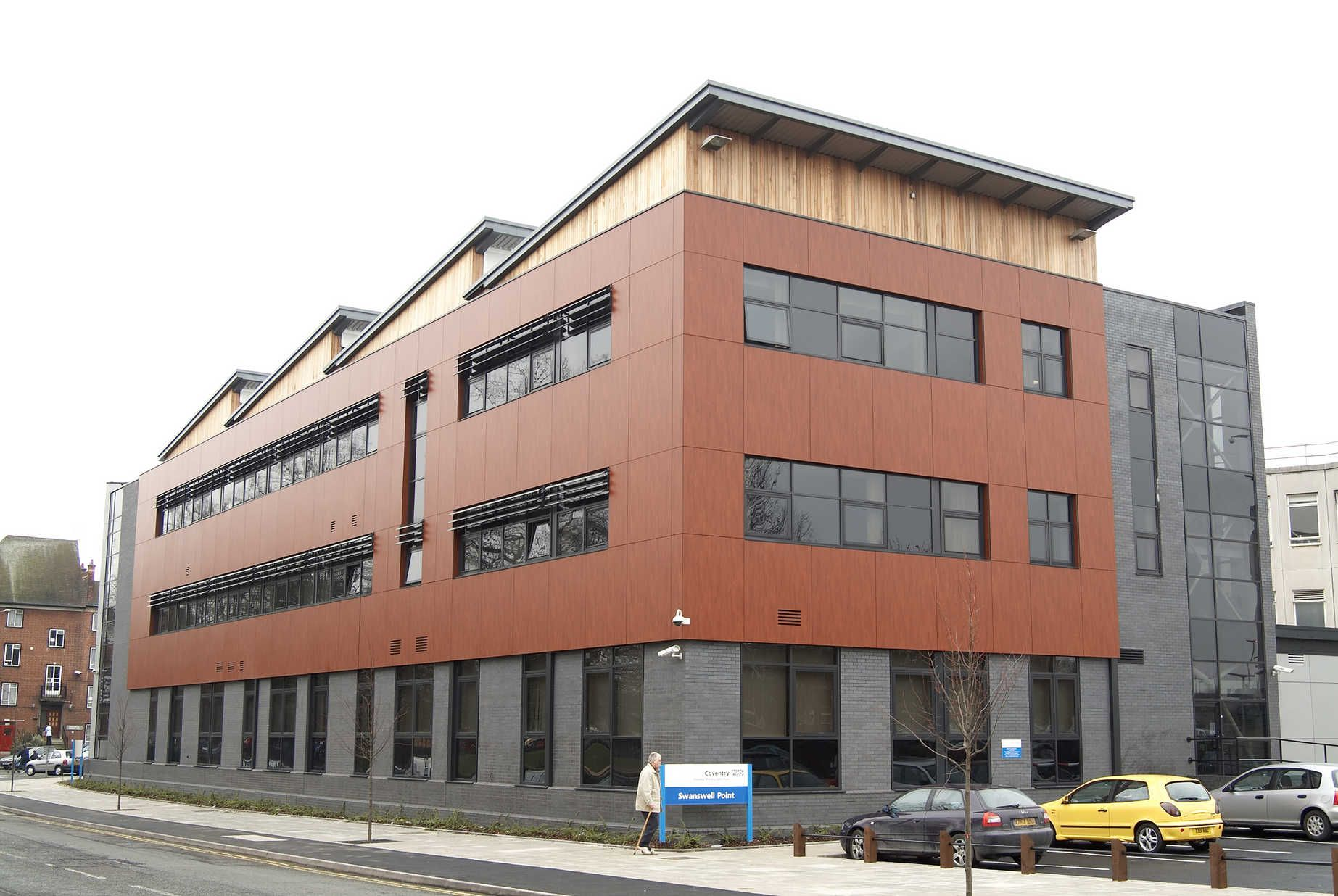 Trespa Architecture, Exterior cladding, Health
