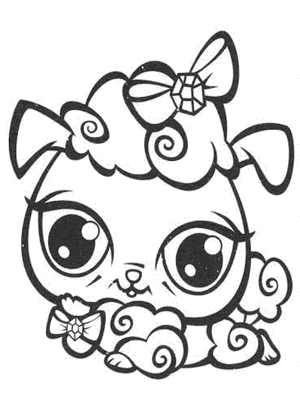 Littlest Pet Shops Coloring Page for My Kids  Elephant coloring