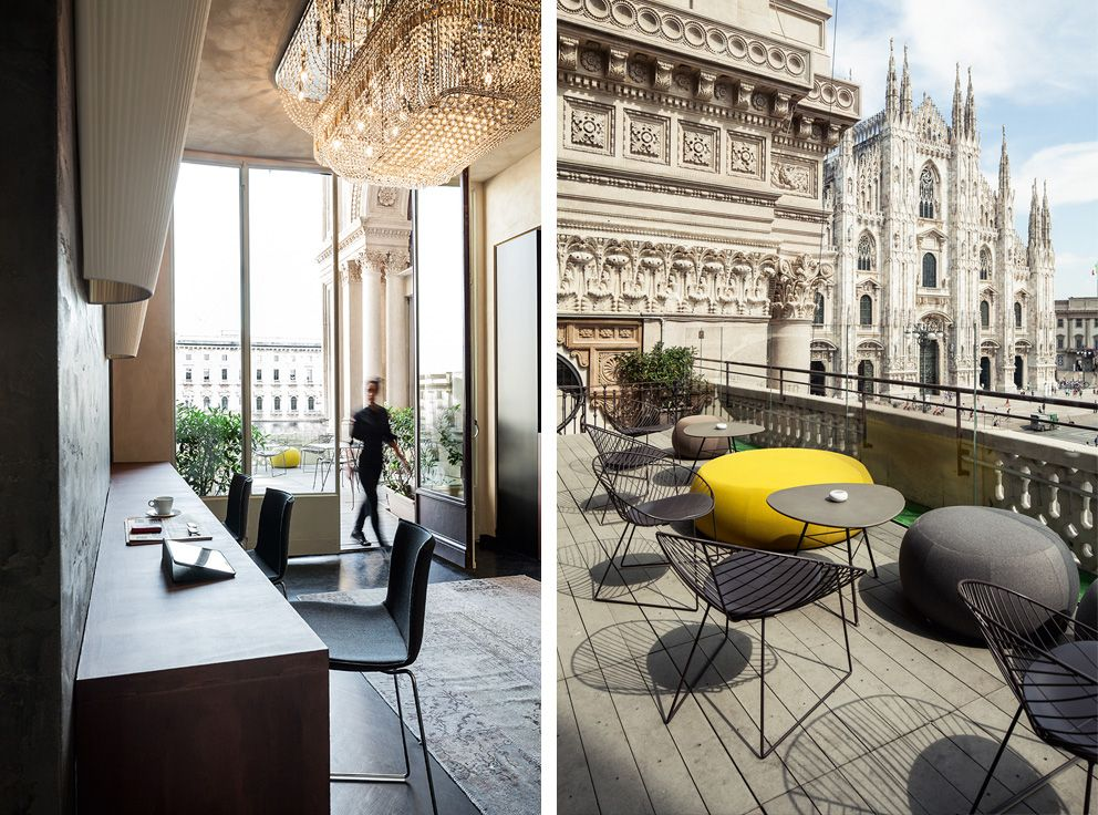 With A View Of The Duomo Restaurants Cafes Bistros Bars