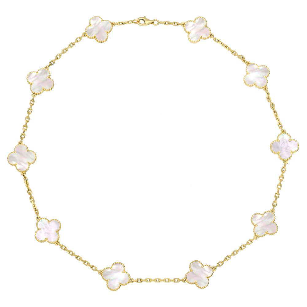 754ab8de657 Van Cleef & Arpels Vintage Alhambra Necklace (7,400) | wish list ...