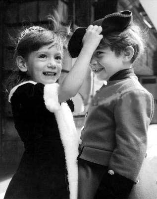 Anna Christina Radziwill 1960 And Her Brother Anthony