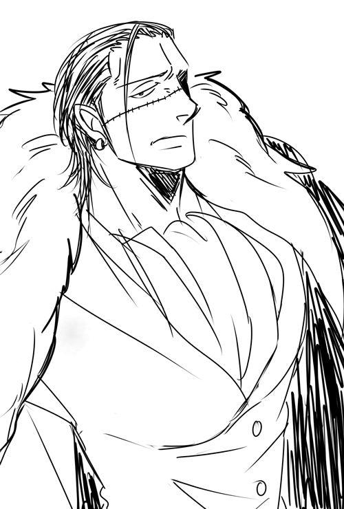 Sir Crocodile  One Piece