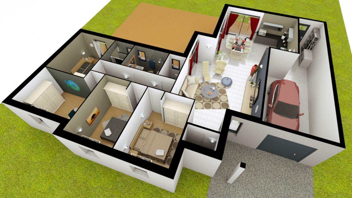 Construire Sa Maison En Ligne Gratuitement Maisons Pierre Faire C Est Possible Et Sur Mesure 660330