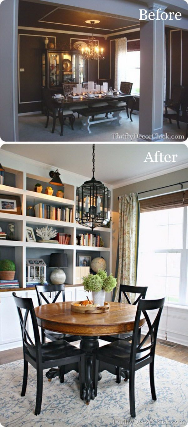 Easy And Budget Friendly Dining Room Makeover Ideas Dining Room