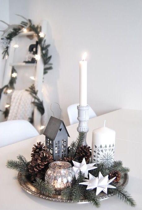 99 Ideen für skandinavische Weihnachtsdeko #christmasdecorideas