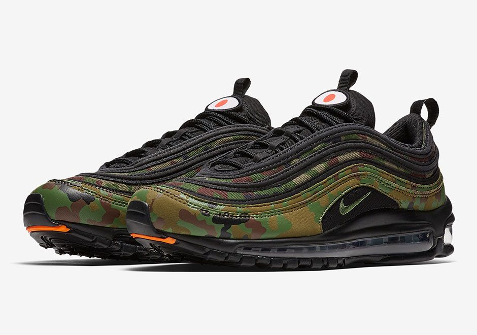 Nike Air Max 97 Country Camo Japan Release Date Photos Nike Air Max Nike Air Max 97 Air Max