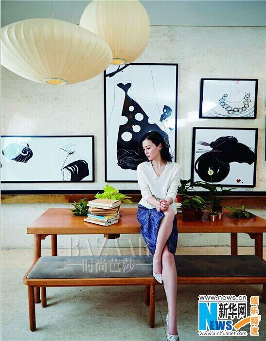 Chinese actress Liu Zi