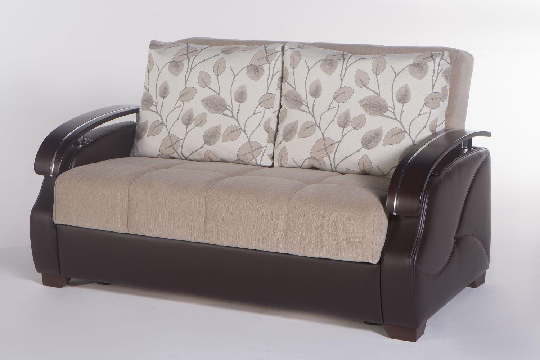 Cool Costa Loveseat Sleeper In Armoni Vizon By Istikbal Beatyapartments Chair Design Images Beatyapartmentscom